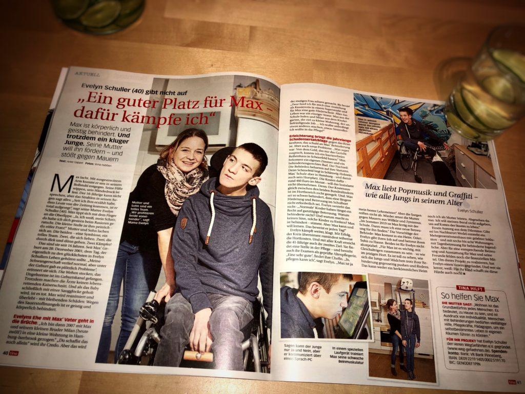 """FullSizeRender-1024x768 Artikel in der Zeitschrift """"tina"""" erschienen"""